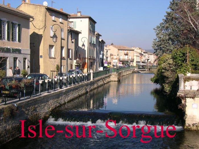 Isle-sur-Sorgue