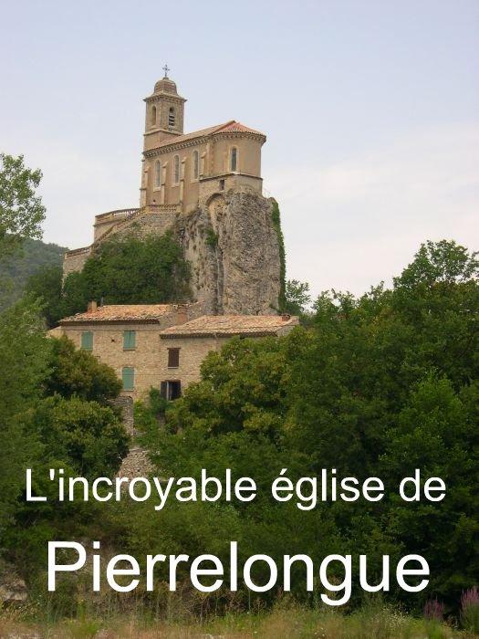 L`extraordinaire église de Pierrelongue
